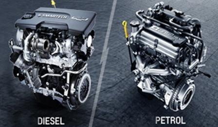 бензинов и дизелов двигател