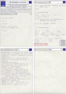 Италиянски документи на кола
